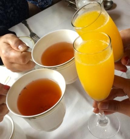 Tea & Mimosas