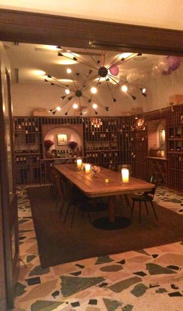 Private venue space